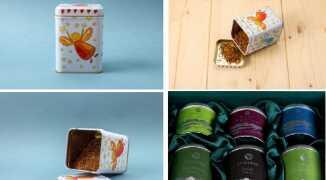 Элитный чай в жестяных банках