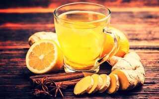 Имбирный чай — рецепты приготовления