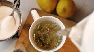 Зеленый чай при высоком давлении
