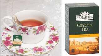 Чай Ахмад (Ahmad Tea) — особенности вкуса, польза и вред, отзывы