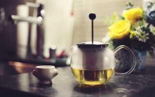 Зрелый крупнолистовой зеленый чай