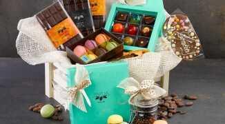 Букеты, подарки и подарочные корзины из чая, кофе, конфет