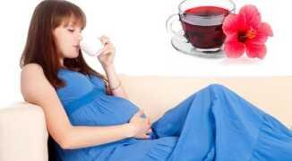 Можно ли беременным чай каркаде: полезные свойства и противопоказания
