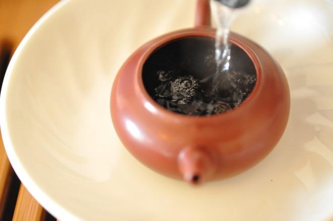 Заваривание китайского чая