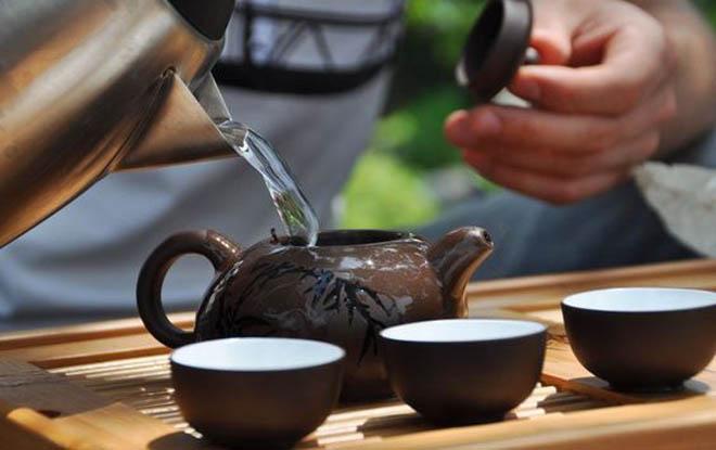заваривание чая сенча