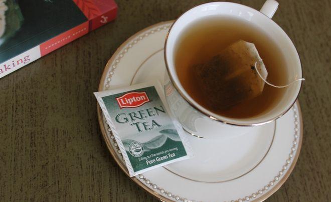 Зеленый одноразовый чай