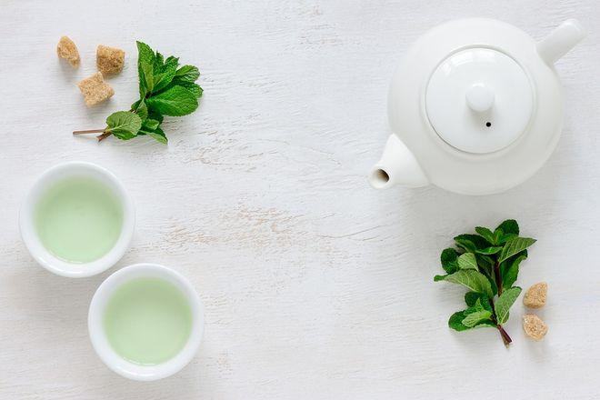 Зеленый чай от отеков