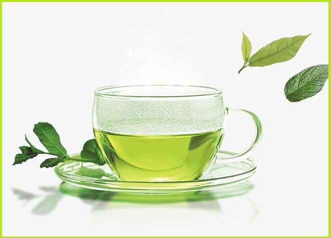 Стеклянная чашка для чая