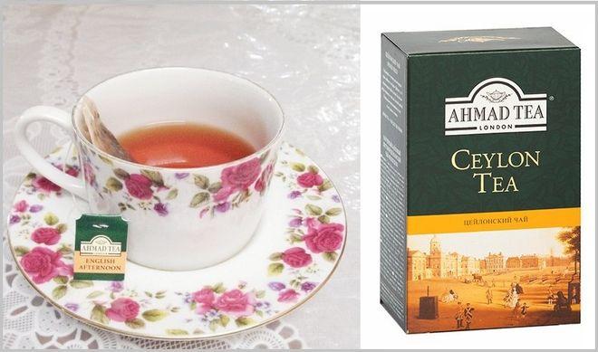 Черный чай Ахмад