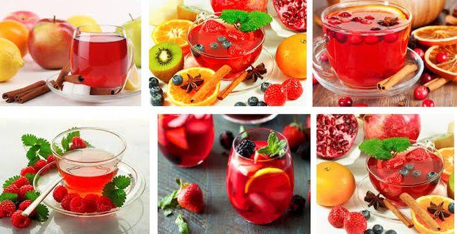 Фиточай из фруктов