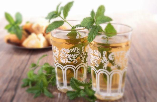 Два стакана чая