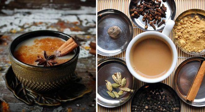 Масала на основе зеленого чая