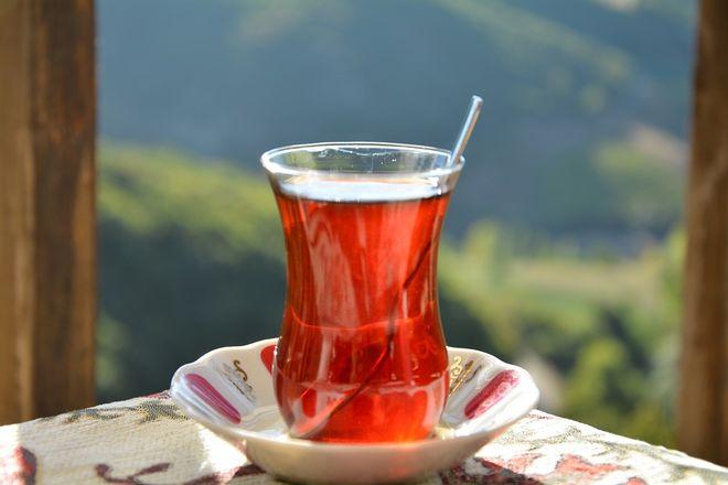 Турецкий чайный стакан