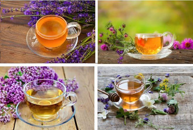 Чаи из разных трав