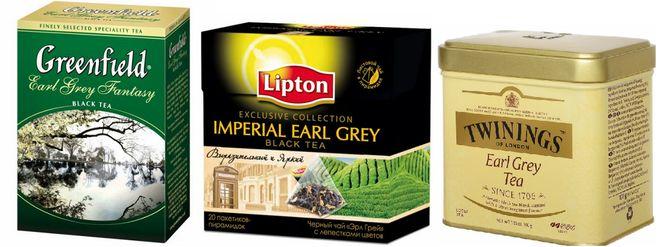 "Чай ""Ерл Грей"" в упаковках"
