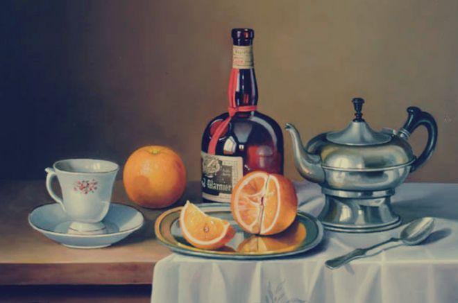 Посуда для чая на столе