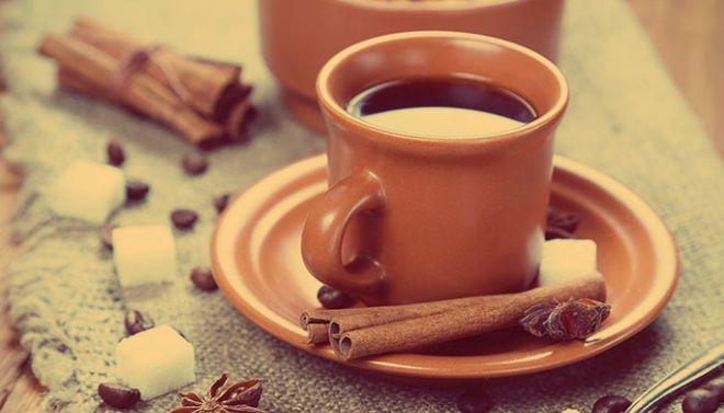 Коричневый чай