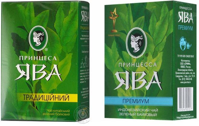 Зеленый чай  Ява премиум
