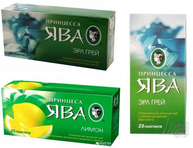 Зеленый чай Принцесса Ява Эрл Грей
