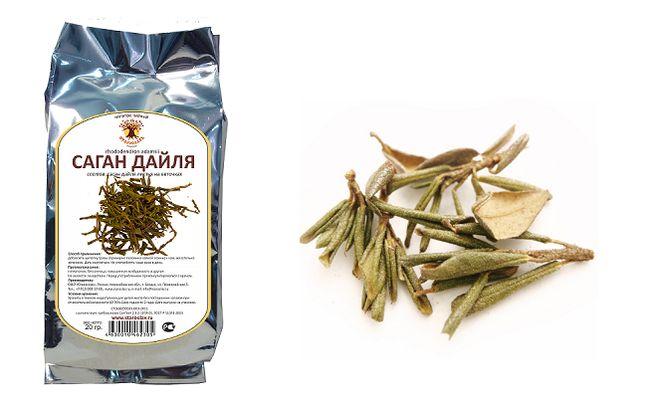 Желтый чай ChariTea лекарственный