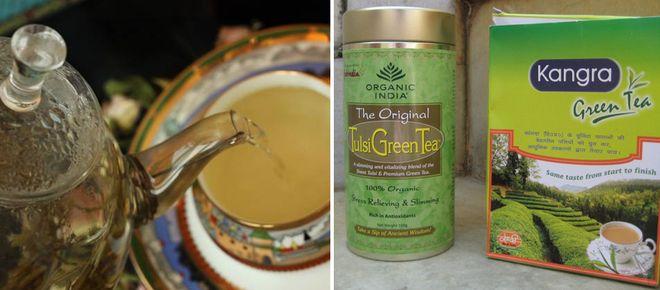 Зеленый индийский чай
